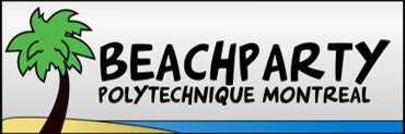 Participant à une édition du beach party de l'école Polytechnique de Montréal