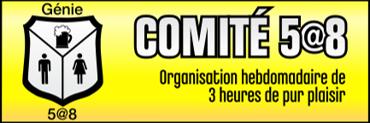 Membre du comité organisateur des 5@8